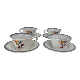 """Italian Ceramic """" Galvani"""" Tea Set"""