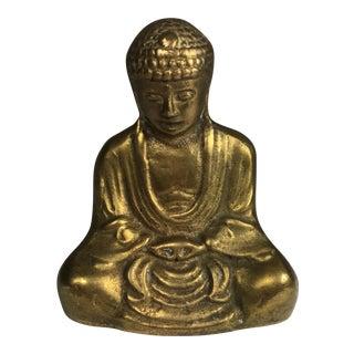 Vintage Brass Buddha Figurine