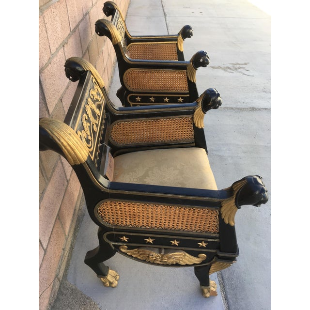 Refined French Neoclassical Chairs - A Pair - Image 3 of 7