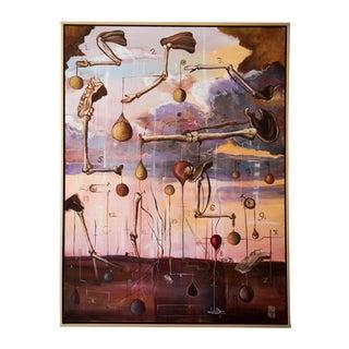 "Scott Henderson ""Tabula Tertia"" Painting"