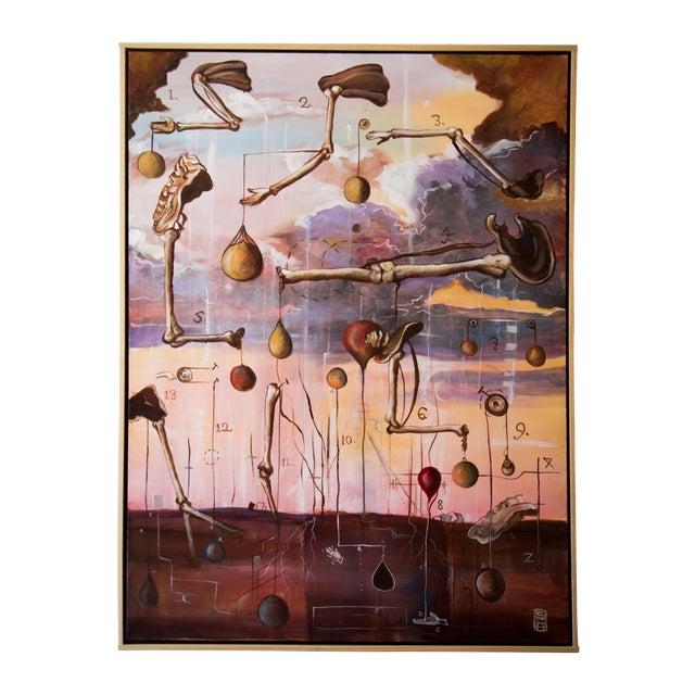 "Scott Henderson ""Tabula Tertia"" Painting - Image 1 of 4"