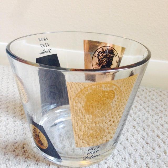 Image of 1960's Regency Bar Ware Black Gold Ice Bucket