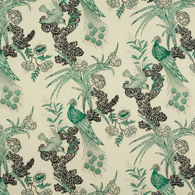 Drapery Panels w/ Miles Redd for Schumacher Fabric - Image 7 of 7