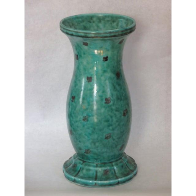 Argenta Vase Signed by Wilhelm Kage for Gustavsberg, Sweden - Image 2 of 3