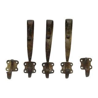 Vintage Jugendstil Hooks - Set of 5