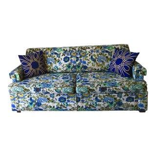 1960's Floral Statement Sleeper Sofa
