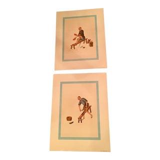 1957 Mid-Century Penn Prints - A Pair