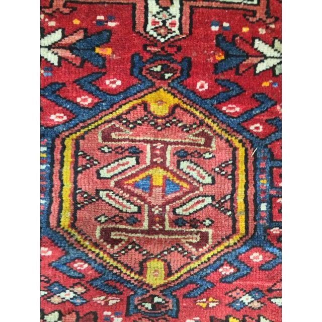 """Vintage Karajeh Persian Rug Runner - 2'5"""" X 8'5"""" - Image 7 of 8"""