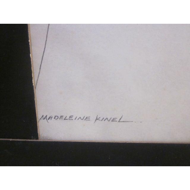 Image of Madeleine Kinel Signed Original Mixed Media Art