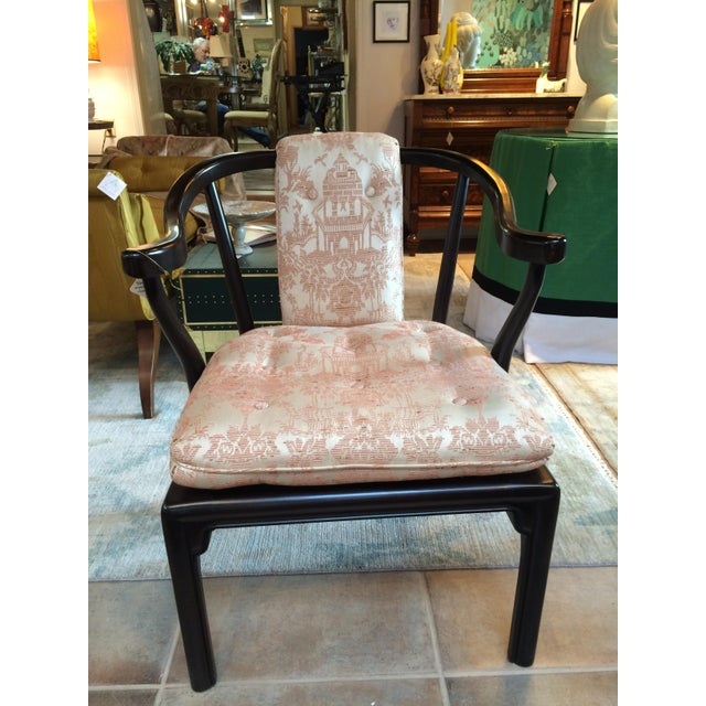 Image of Heritage Chinoiserie Accent Chair
