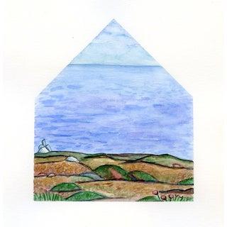 Sea Homescape No.2 Original Watercolor