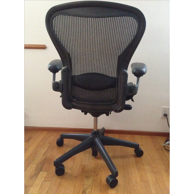 herman miller aeron office chair chairish