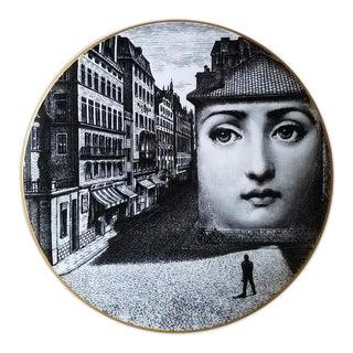 1980s Vintage Rosenthal Fornasetti Temi e Variazioni Motiv 5 Plate