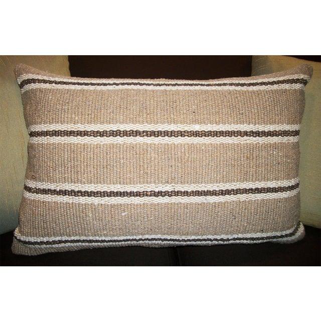 Vintage Sofra Lumbar Pillow - Image 2 of 4