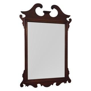Vintage Mahogany Mirror