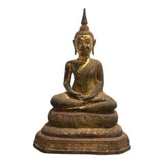 Antique Thai Buddha Statue