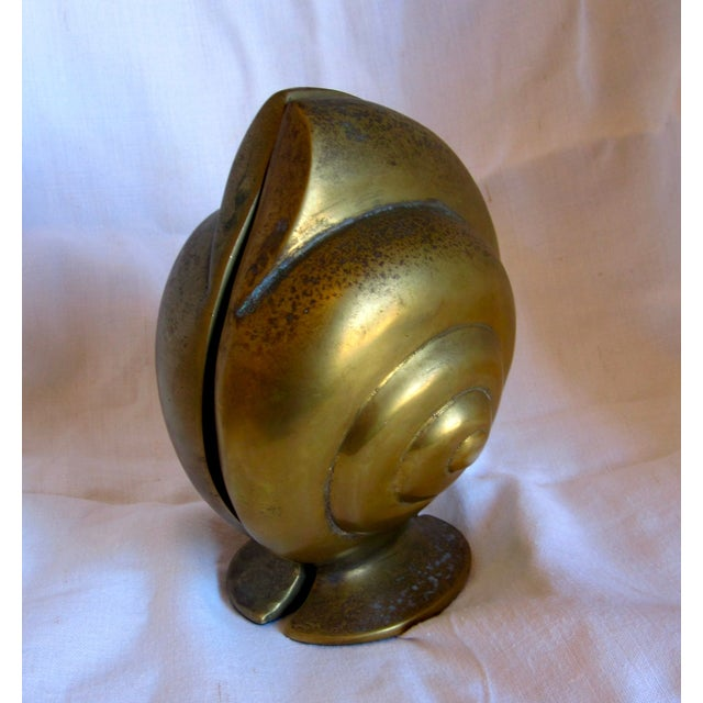 Brass Shell Bookends - Image 5 of 8