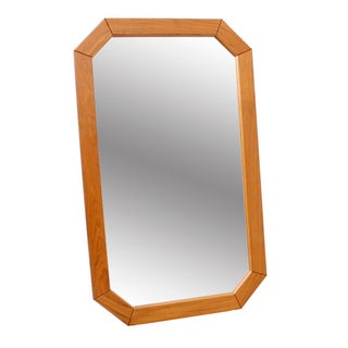 Danish Modern Octagonal Mirror
