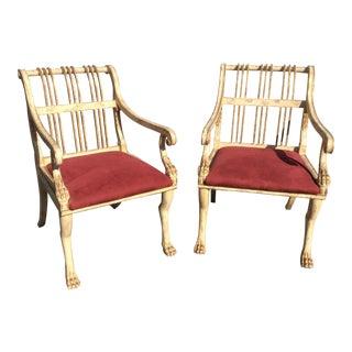 Circa 1989 Luten Clarey Stern Chairs - A Pair