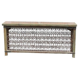 Mughal Iron Front Console Table