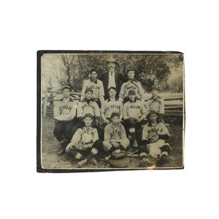 Antique San Francisco St Helena Baseball Photo