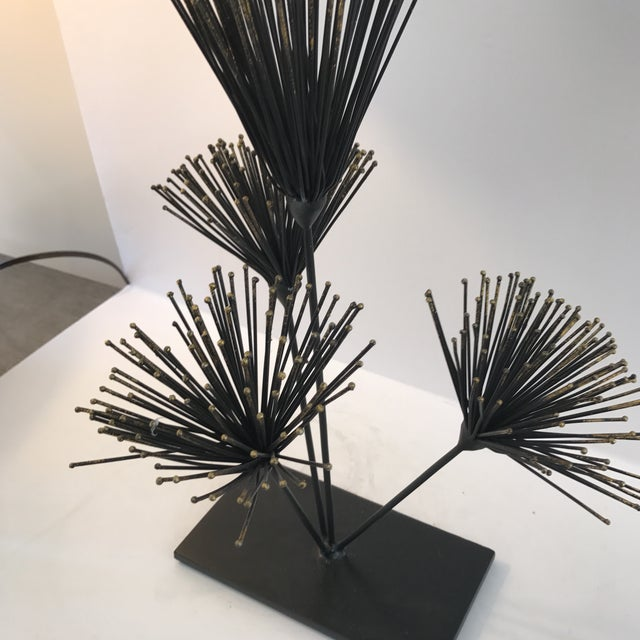 Metal Floral Sculpture - Image 3 of 6