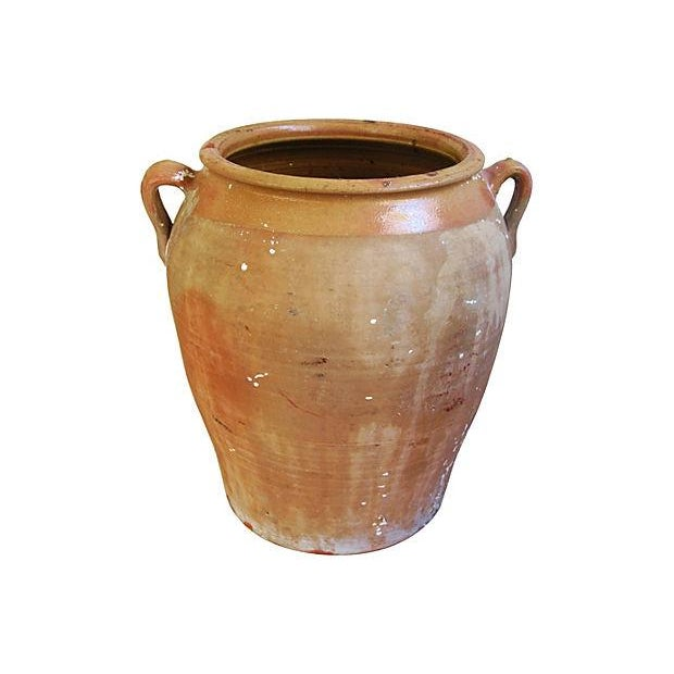 Image of Jumbo Antique French Terracotta Confit Pot