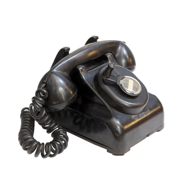 Image of Vintage Rotary Dial Telephone