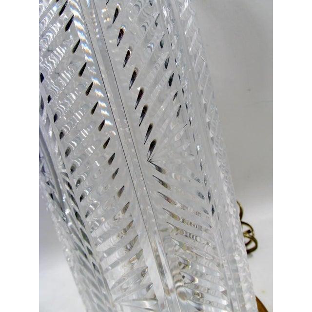 Vintage Waterford Irish Cut Crystal Table Lamp - Image 5 of 9