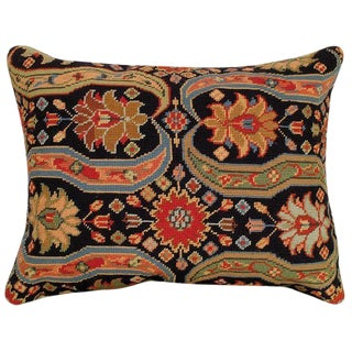 Aztec Upscale Needlepoint Pillow - A Pair
