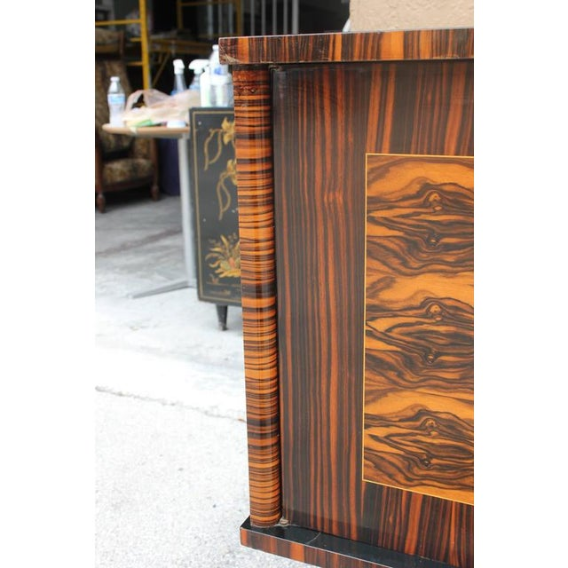 "Image of French Art Deco Exotic Macassar Ebony ""Mushta"" Sideboard / Buffet, circa 1940s"