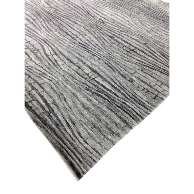 "Modern Bamboo Silk Area Rug - 9'x 11'8"" - Image 5 of 5"