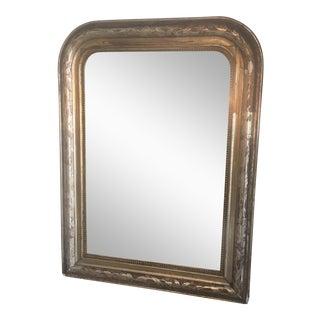 Vintage Gilded Louis Philippe Mirror