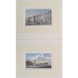 1840c British Country House Prints - A Pair
