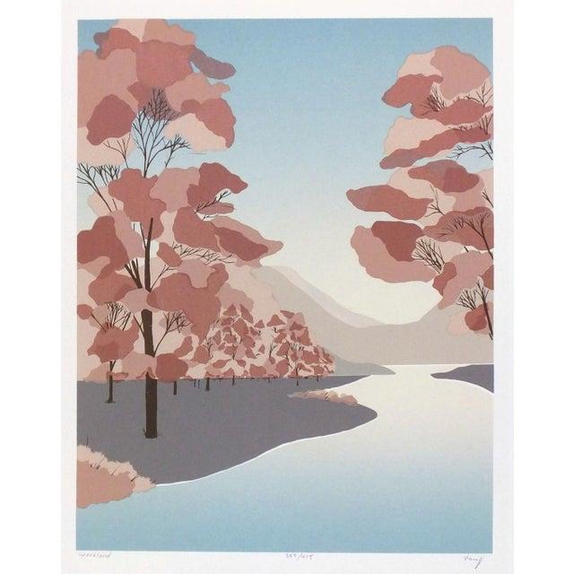 Woodlands Landscape Serigraph - Image 1 of 4