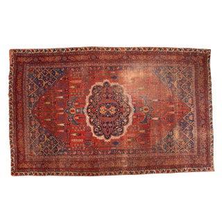 """Antique Bijar Carpet - 7'6"""" X 11'10"""""""