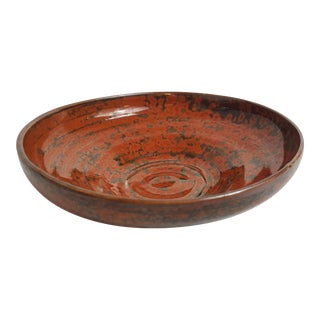 Sue Mull Rust & Brown Studio Pottery
