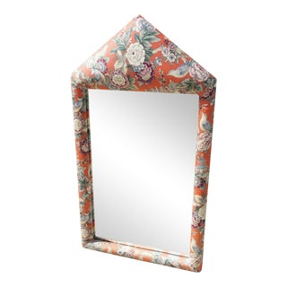 Scalamandre Upholstered Mirror