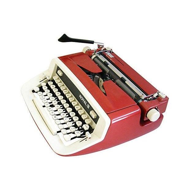 Vintage 1970s Royal Custom II Typewriter & Case - Image 4 of 7