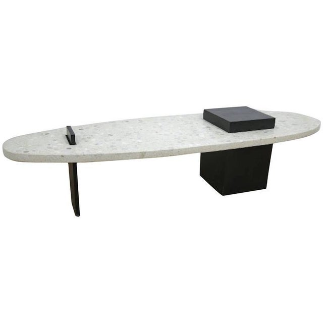 Harvey Probber Terrazzo Surfboard Coffee Table Chairish