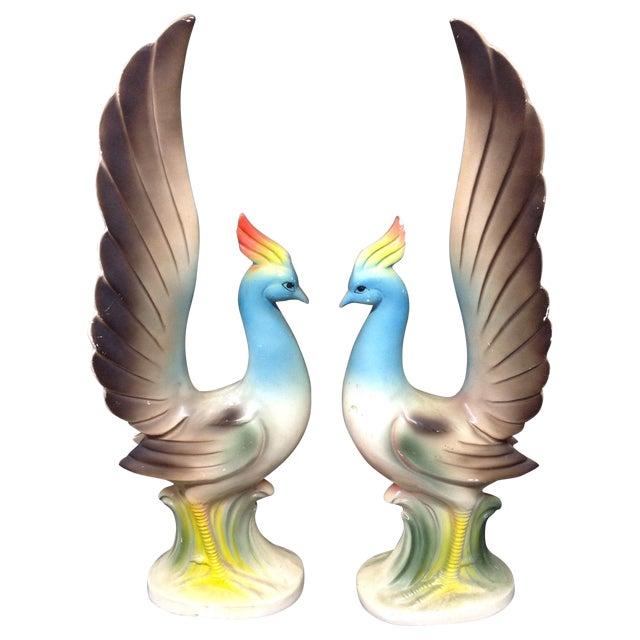 Mid-Century Birds of Paradise - Image 1 of 4