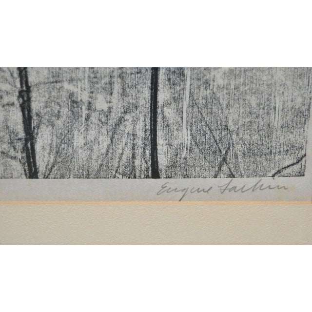 Eugene Larkin Weed Forest No. 1 Woodcut, C.1960 - Image 3 of 6