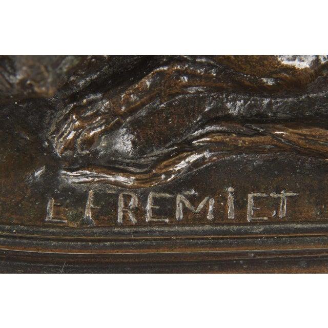 Image of Emmanuel Fremiet Bronze Sculpture of a Fox