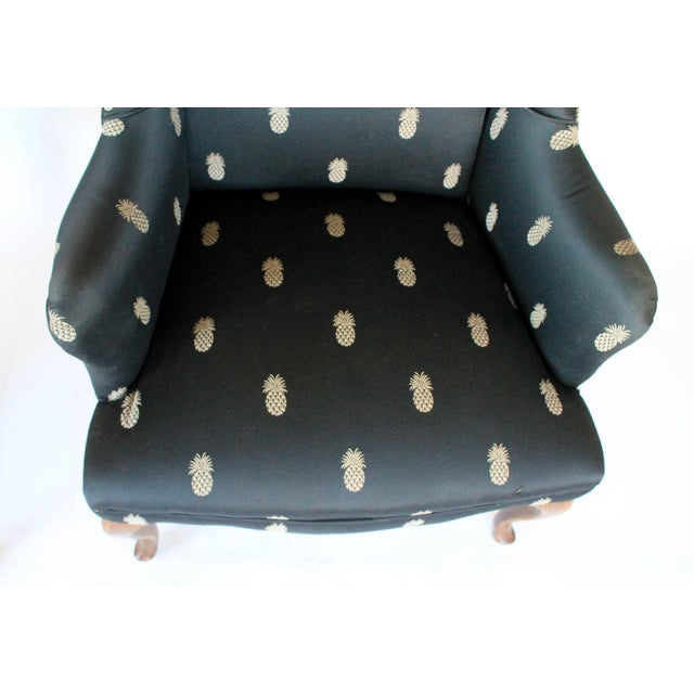 Vintage Wingback Chairs - A Pair - Image 10 of 11