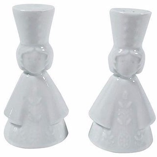 Limoges Salt and Pepper Shakers - A Pair