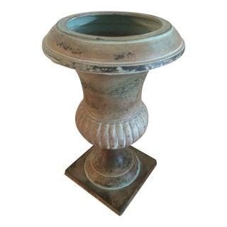 Antiqued Brass Urn