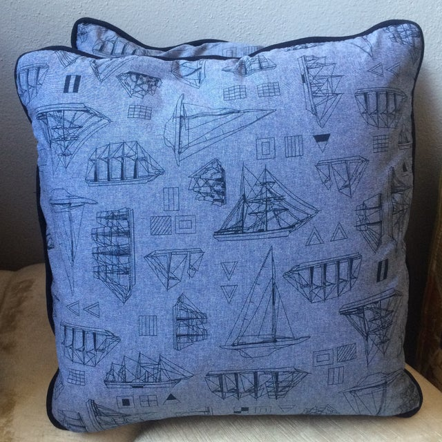 Set of Three Nautical Pillows - Image 5 of 8