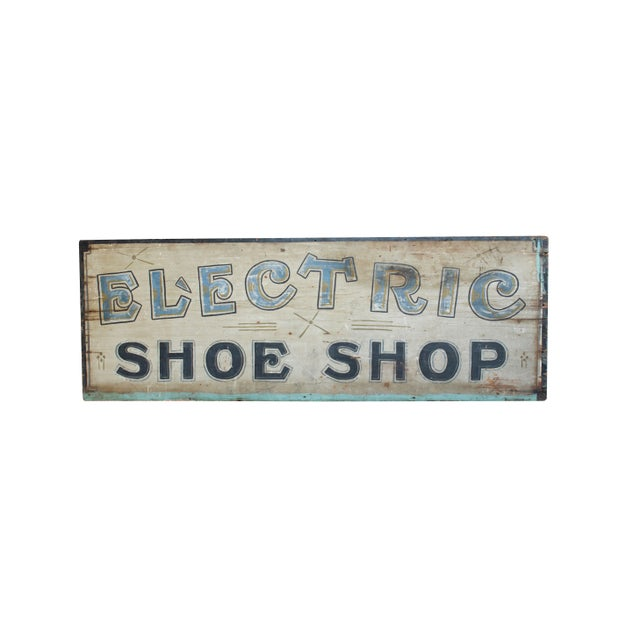 Electric Shoe Shop Sign - Image 2 of 2