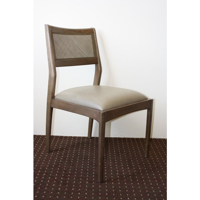 Image of McGuire Fino Side Chair in Gray & Dove