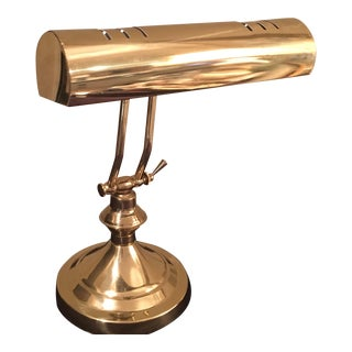 Vintage Brass Desk Lamp